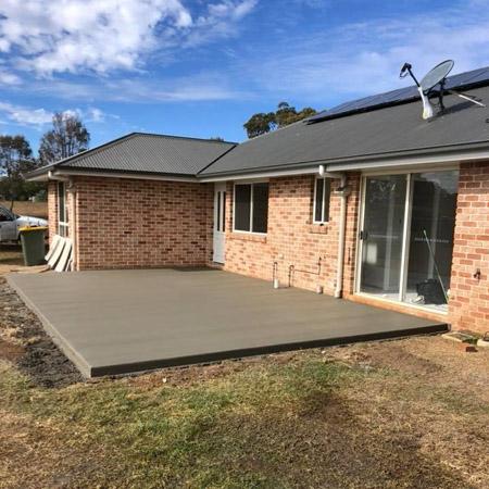 Concrete patio Toowoomba 4