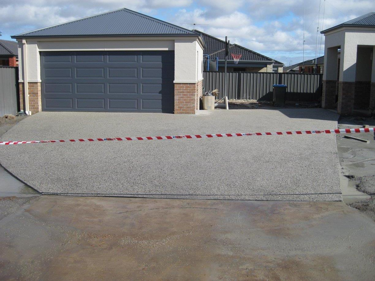concrete driveway in Toowoomba