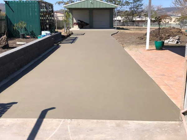 concrete driveway in Toowoomba queensland
