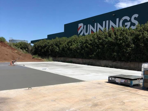 driveway concrete slab commercial toowoomba